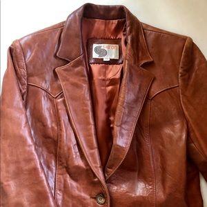 Vintage 70s Silton Leather Jacket